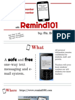 remind 101 presentation