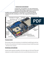 Introduction to Motherboard