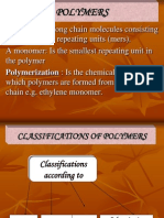3 Polymers