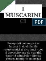 Prezentare receptori muscarinici