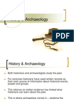History & Archaeology.ppt