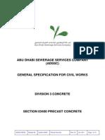 04-Division 3-Section 03400 Precast Concrete-Version 2 0