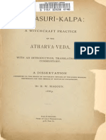 Herbert William Magoun - The Asuri Kalpa a Witchcraft Practice of the Atharva Veda Cd6 Id1672880046 Size2056