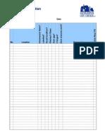 Fire Door Checklist 19-04-2011 v1.0