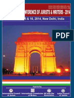 International Judicial Conderence Delhi 2014