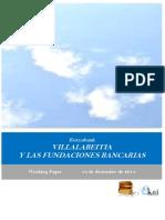 Kutxabank. VILLALABEITIA Y LAS FUNDACIONES BANCARIAS