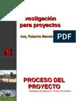 Investigacion en Proyectos 2013