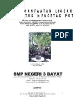 Karya Ilmiah Pot Bunga...SMPN 3 Bayat Klaten