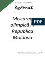 Miscarea Olimpica in Republica Moldova