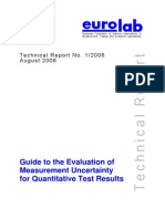 EL 11-01-06 387 Technical Report Guide Measurement Uncertainty (1)