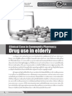 Drug use in Elderly for Community Pharmacists