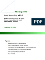 LossReserving With R 20081113