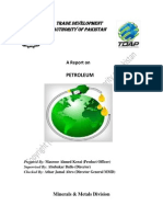 Tdap Report on Petroleum