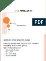 Amir Adnan Retain Store