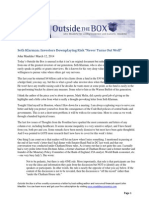John Mauldin's Outside the Box - Summary of Seth Klarman's 2013 Letter