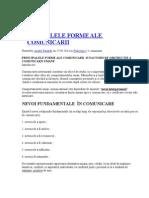 178432873 Principalele Forme Ale Comunicarii
