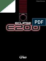 Catálogo Brochure E200
