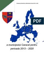 Strategia Dezvoltare 2013 2020