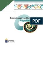 Orientacion Programación Didactica