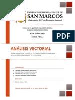 Monografía Física I - Análisis Vectorial
