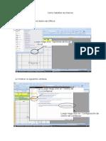Como Habilitar Las Macros en Excel