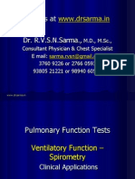 Spirometry for clinicians by Dr Sarma.ppt