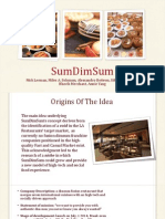 SumDimSum Business Plan