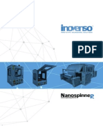 Inovenso Co. Electrospinning Machines Catalog