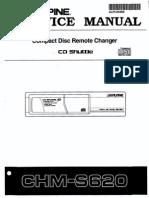 Alpine Chm-s620 Sm + DT Mechanism