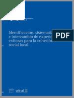 Identificación, Sistematización e Intercambio de Experiencias Exitosas Para La Cohesión Social Local