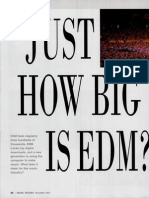 Just How Big is EDM by Staff