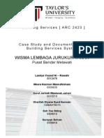 Building Services Report