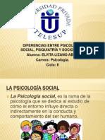 Diferencias Entre Psicologia Social-Psiquiatria-Sociologia