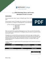 Market Practice test
