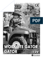 Peg Perego Gator Manual
