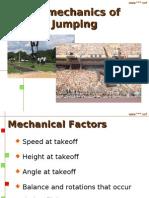 Bio Mechanics of Jumping