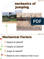Bio Mechanics of Jumping