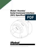 Roomba SCI Spec Manual