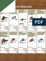 Catalogo elettroseghe