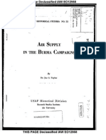 Air Supply in the Burma Campaigns