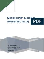 Describa La Cultura de Merck Sharp
