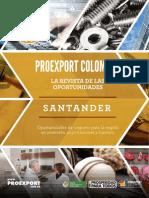 Revista de Oportunidades Proexport Santander