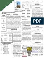 12/14/14 Bulletin