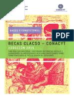 Becas CLACSO CONACYT 2015 Bases y Condiciones