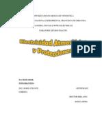 Electricidad Atmosferica y Protecciones