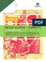 Becas Clacso Conacyt 2015 Instructivo