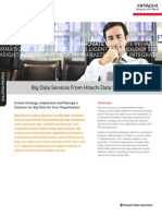 Hitachi Solution Profile Big Data Services