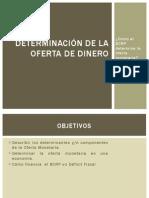 Determinación de La Oferta de Dinero_teoria_monetaria