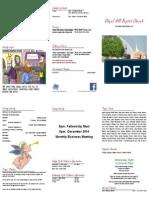 2014-12-14 bulletin