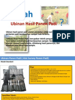 Alat Ubinan  Padi - Survey Hasil Panen Padi Sawah
